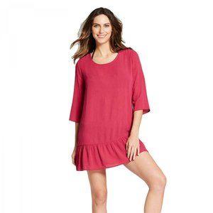 NEW Xhilaration Swim Cover Up Dress XL Sangra